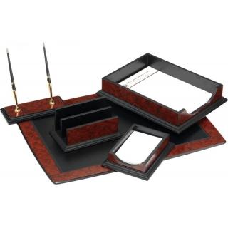 настольный набор деревяный с 6 предметов O36415