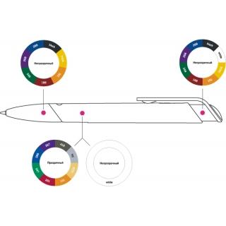 Ручка шариковая Akzento Colour Mix