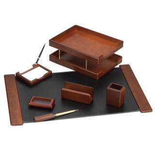 настольный набор деревяный с 7 предметов O36411