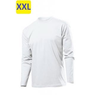 Футболка мужская ST2500, 155 g/m?, длинный рукав, белый