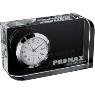 настольные часы из стекла 27503