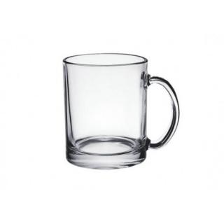 Чашка Евроцилиндр стеклянная 320 мл