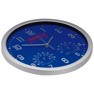 часы с термометром и гигрометром 41238