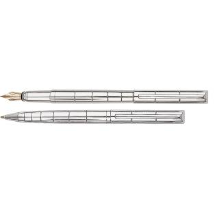 Набор ручка шариковая и перьевая Glossy Couple