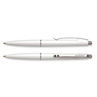 Ручка шариковая Office корпус белый, пишет синим