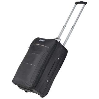 сумка на колесах из микрофибры F206