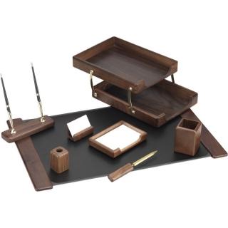 настольный набор деревяный с 8 предметов O36423