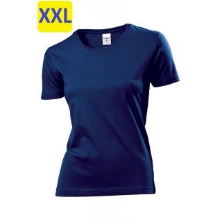 Футболка женская ST2600 Classic T 155 g/m?, темно-синий