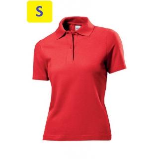 Polo женское ST3100 с коротким рукавом 170 g/m?, красный
