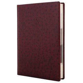 Ежедневник датированный, A5, Ostrich