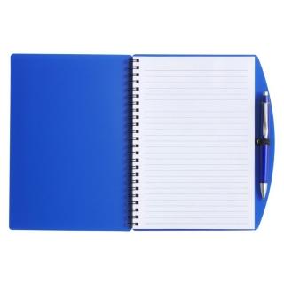 Блокнот формата А5 с шариковой ручкой