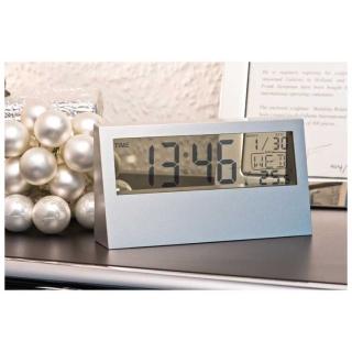 пластиковые настольные часы 37870