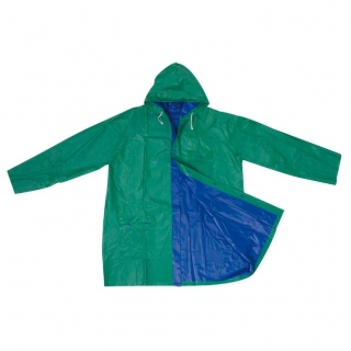 Двусторонняя дождевая куртка с капюшоном