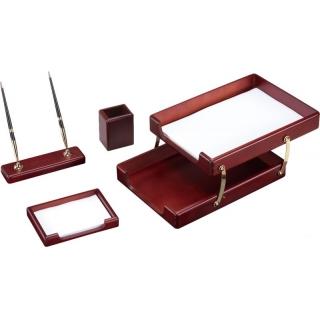 настольный набор деревяный с 4 предметов O36425