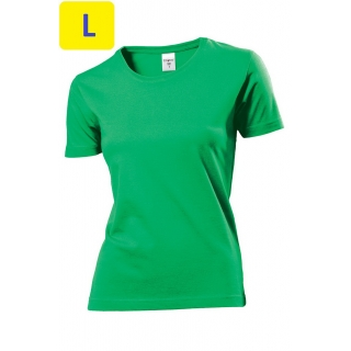 Футболка женская ST2600 Classic T 155 g/m?, зеленый