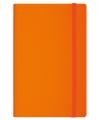 Деловой блокнот Vivella Neon с резинкой