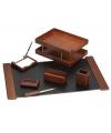 настольный набор деревяный с 7 предметов