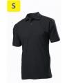 Polo мужское ST3000 с коротким рукавом 170 g/m?, черный