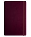 Деловой блокнот Vivella, A5 с резинкой (твердый переплет)