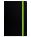 Деловой блокнот Vivella с резинкой Neon