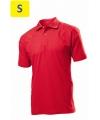Polo мужское ST3000 с коротким рукавом 170 g/m?, красный