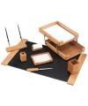Набор настольный деревяный с 8 предметов